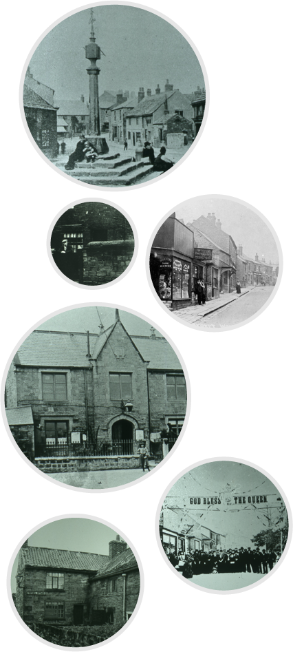 Photos of Woodhouse in times gone by.